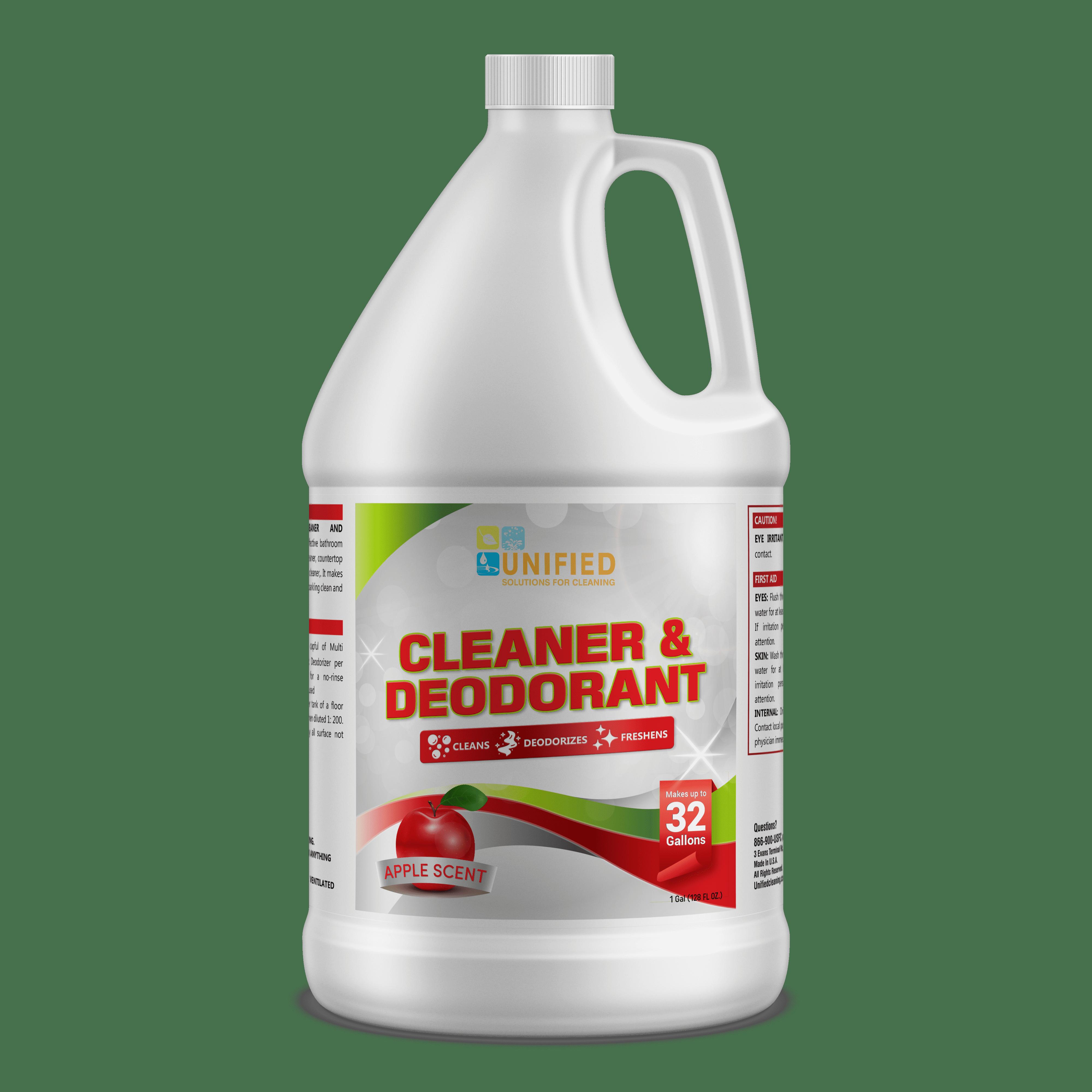 Apple Cleaner and deodorant