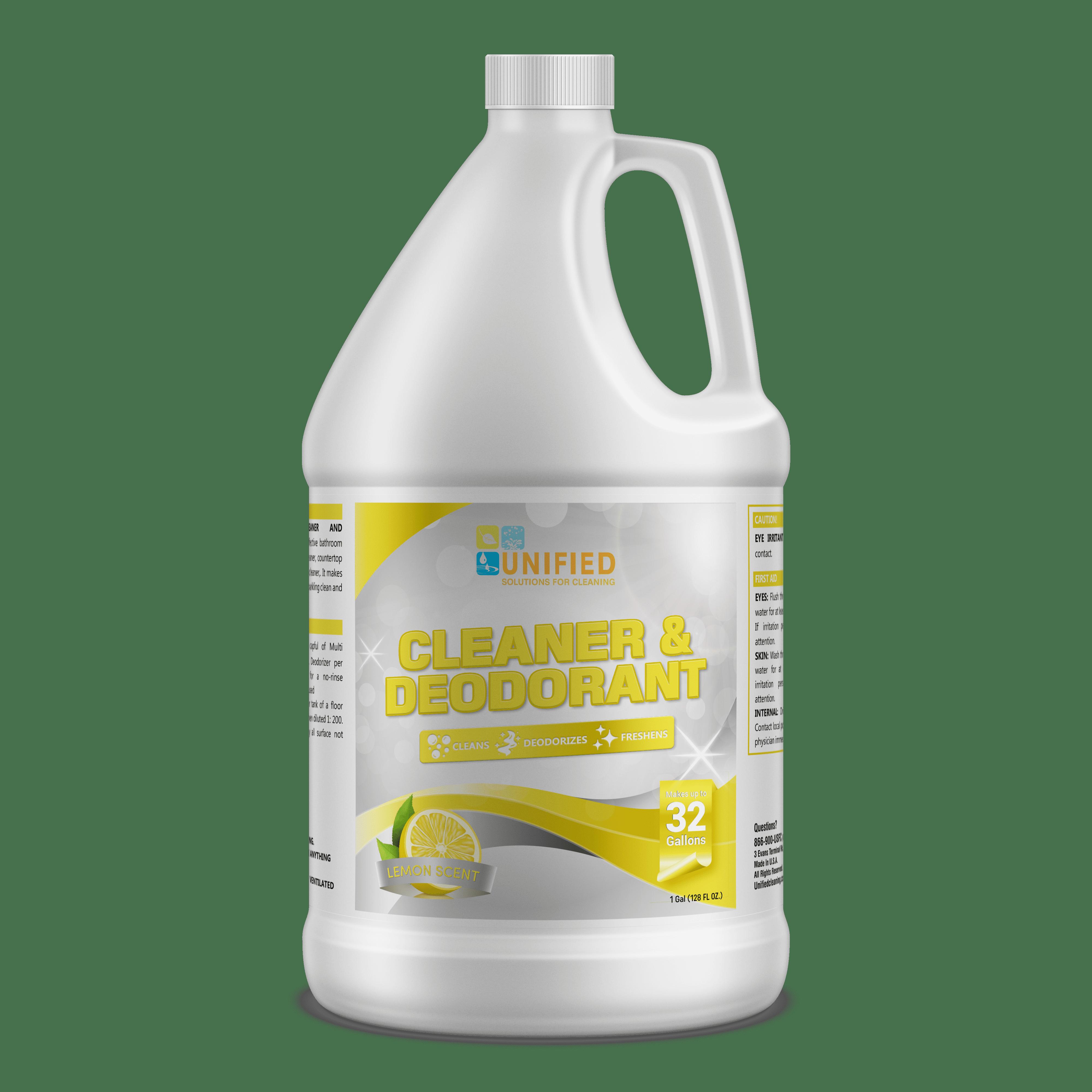 Lemon cleaner and deodorant