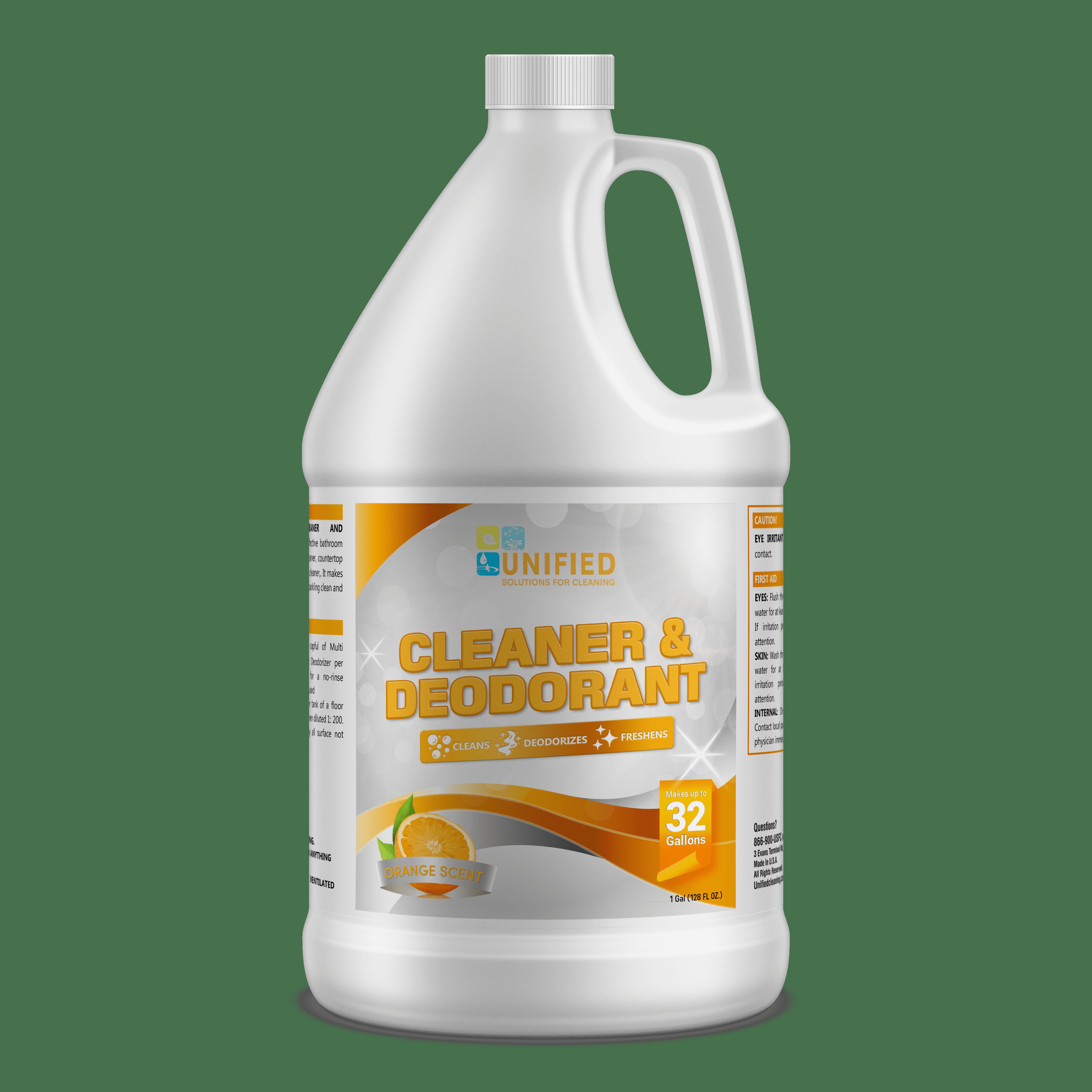 Orange Cleaner and deodorant